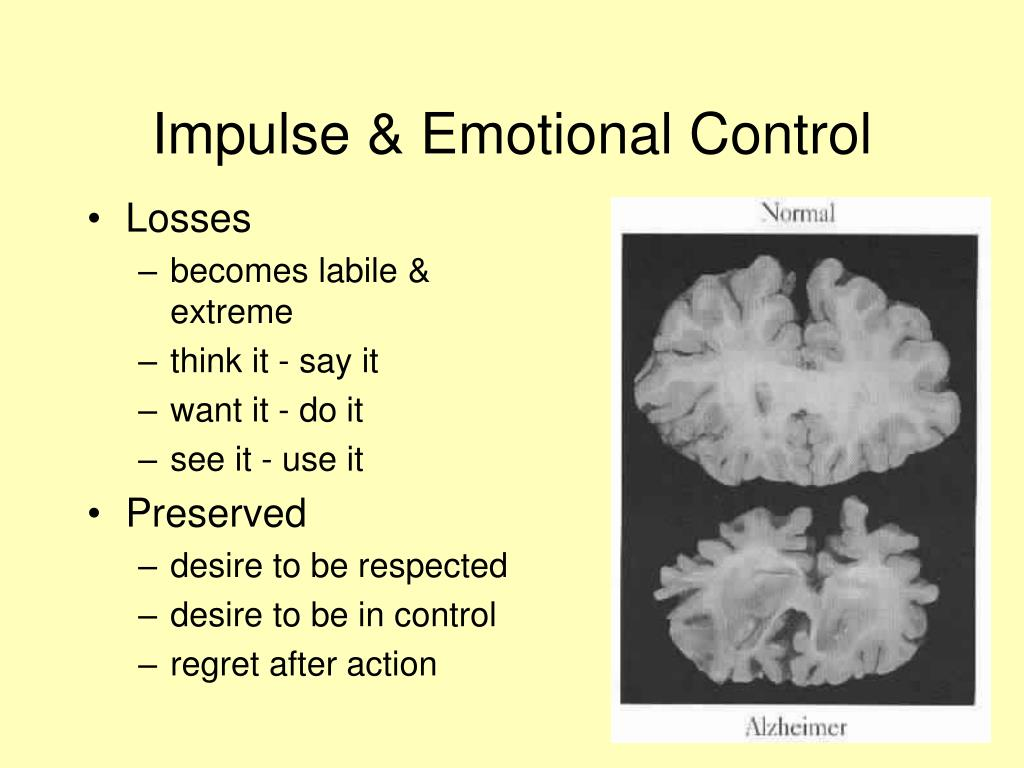 Impulse & Emotional Control