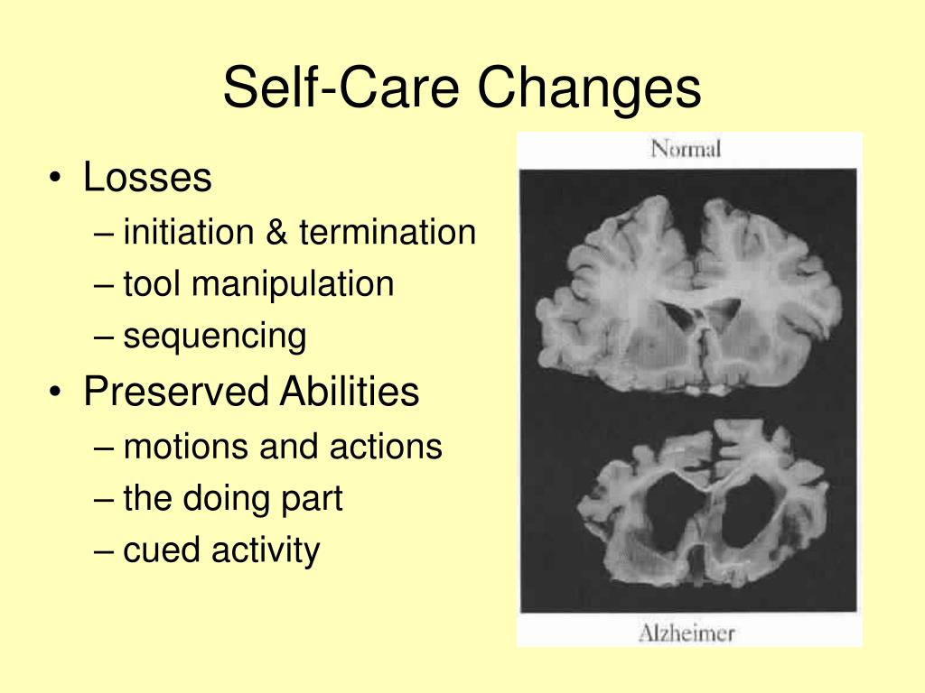 Self-Care Changes