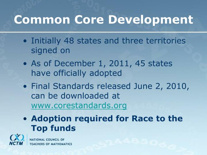 the common core state standards The debate over common core  where k-12 learning is being transformed by a new set of high academic standards called the common core  launched by state officials, the core was backed by.