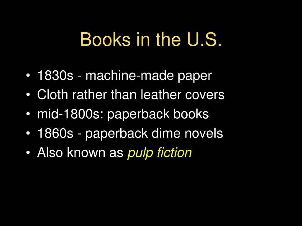 Books in the U.S.