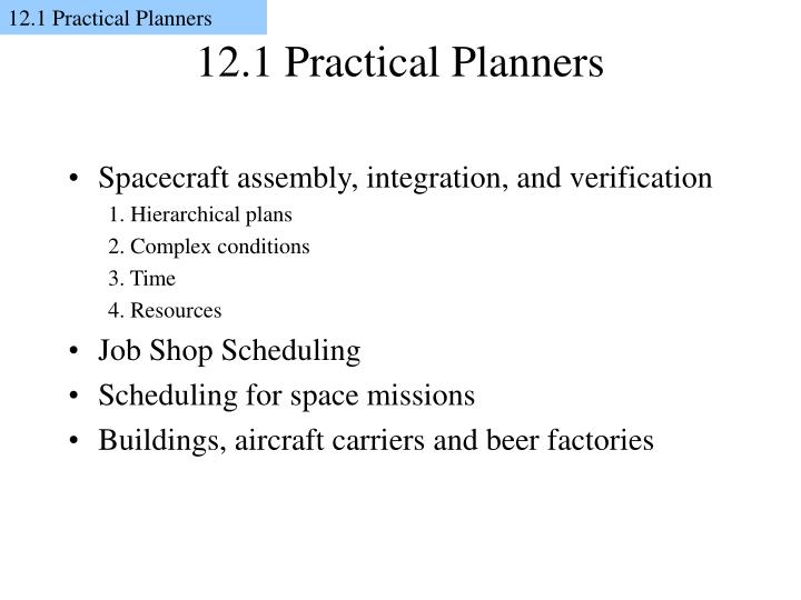 12 1 practical planners