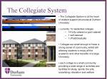 the collegiate system