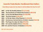 juvenile trade books hardbound best sellers