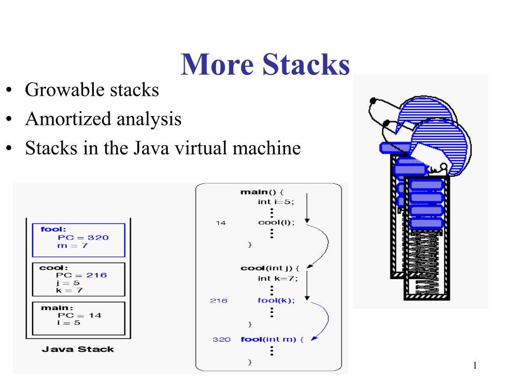 more stacks l.