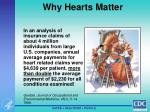 why hearts matter