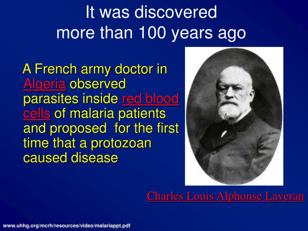 It was discovered                          more than 100 years ago