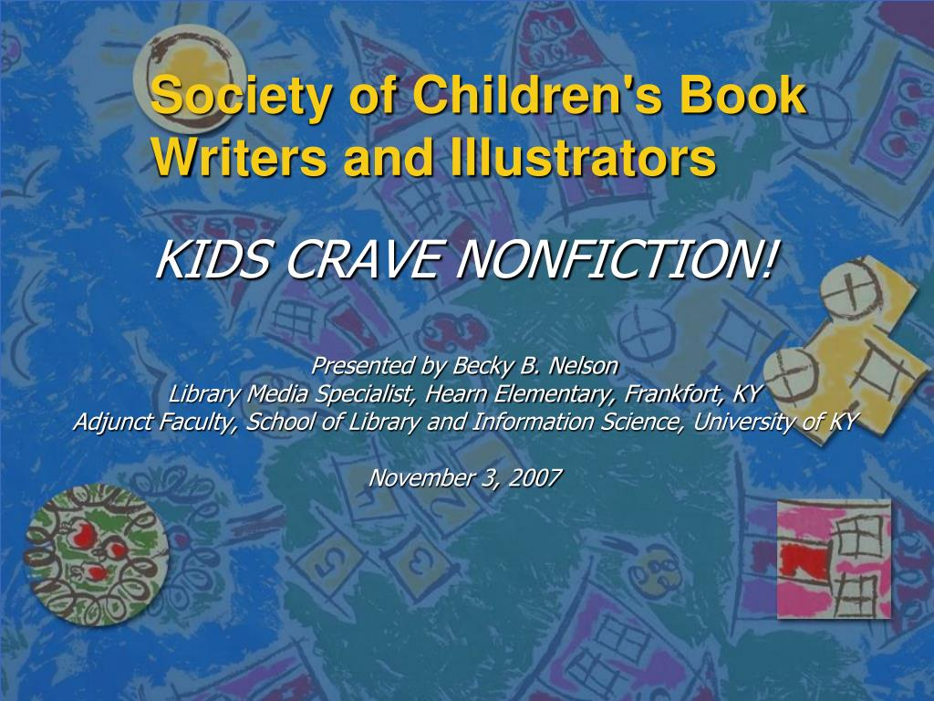 society of children s book writers and illustrators l.