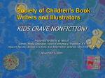 society of children s book writers and illustrators