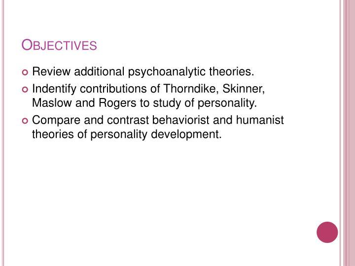 psychoanalysis vs behaviorism