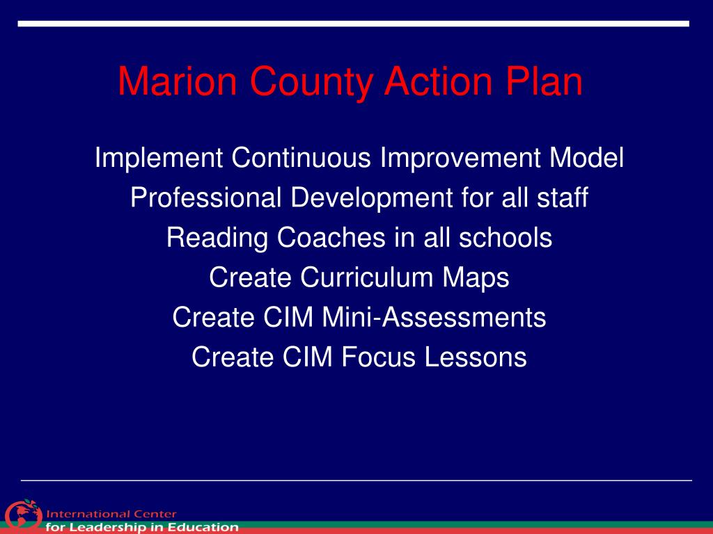 Marion County Action Plan