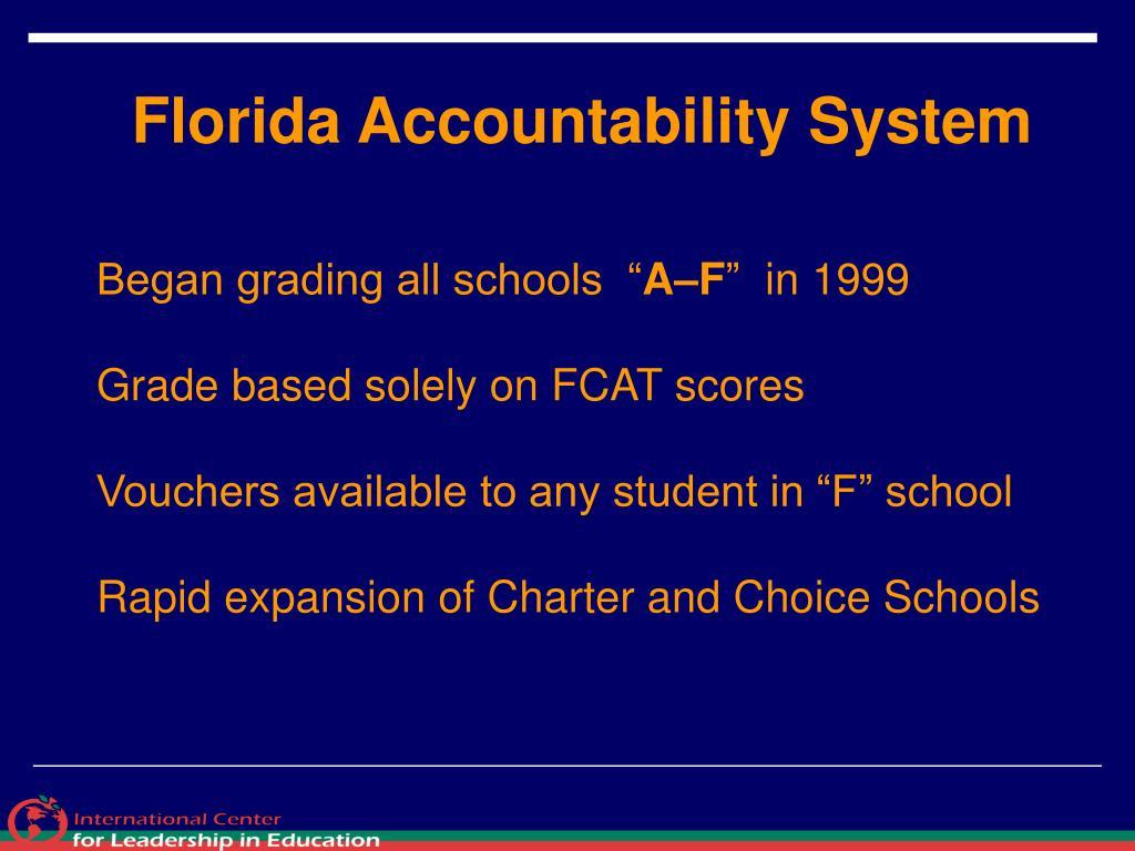 Florida Accountability System