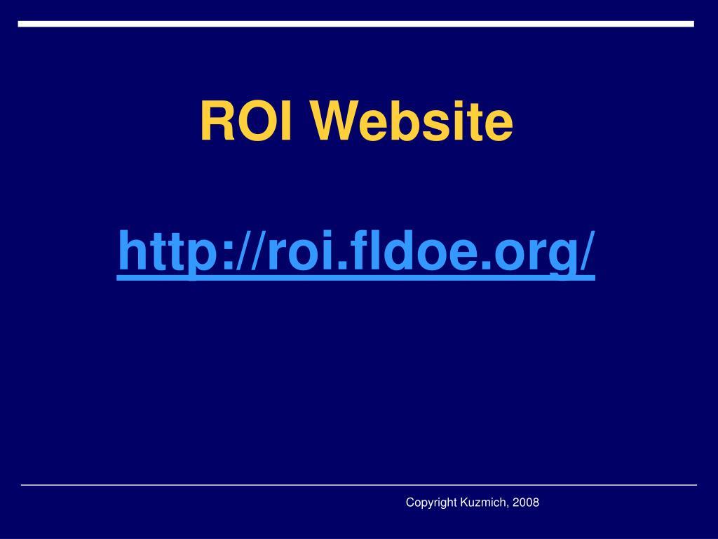 ROI Website