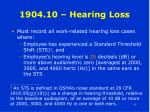 1904 10 hearing loss