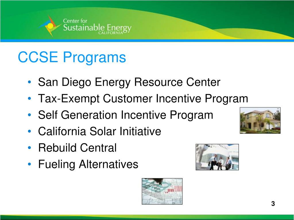 CCSE Programs