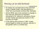 nursing an invalid husband22