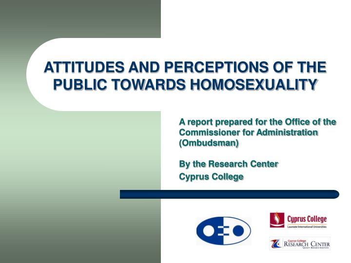 an overview of the medias reports on homosexuality The article provides some basic information on homosexuality and continues with an overview of current knowledge on atti attitudes toward homosexuality: an.