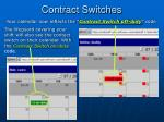 contract switches80