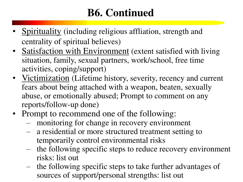 B6. Continued