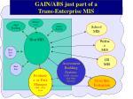 gain abs just part of a trans enterprise mis
