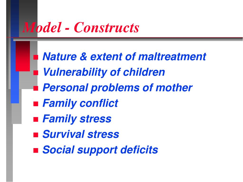 Model - Constructs