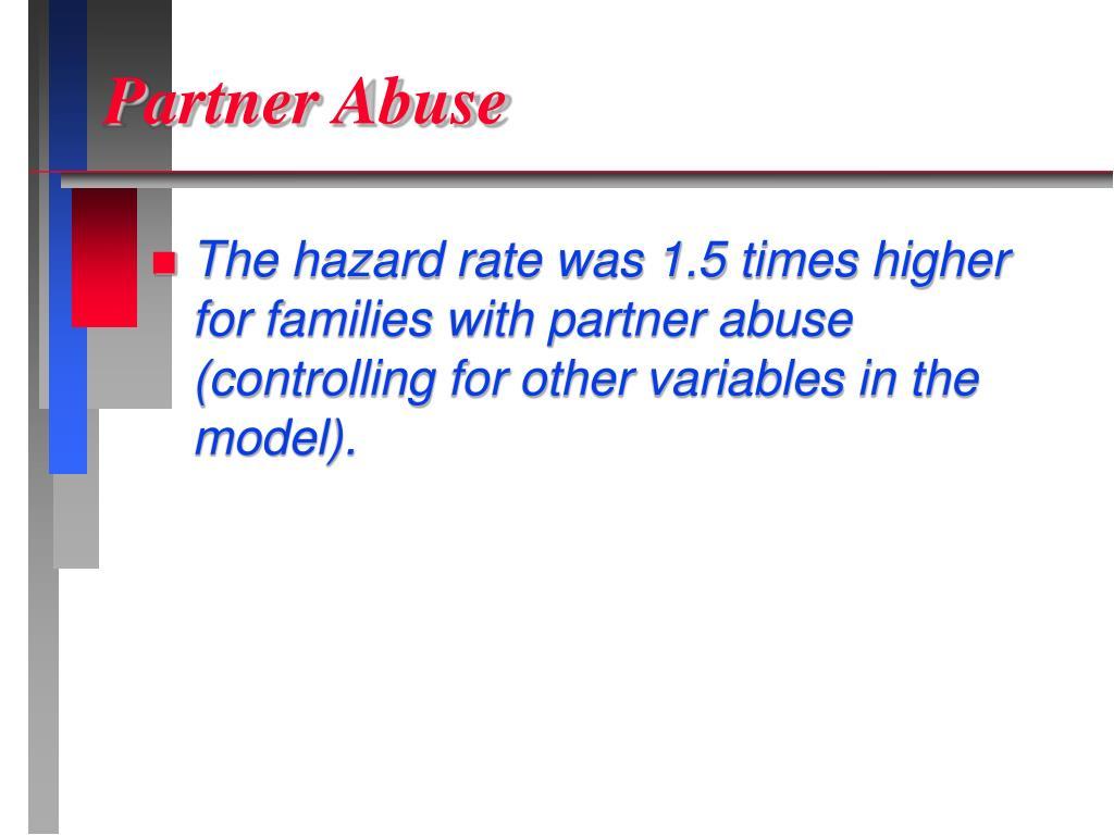 Partner Abuse