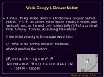 work energy circular motion41