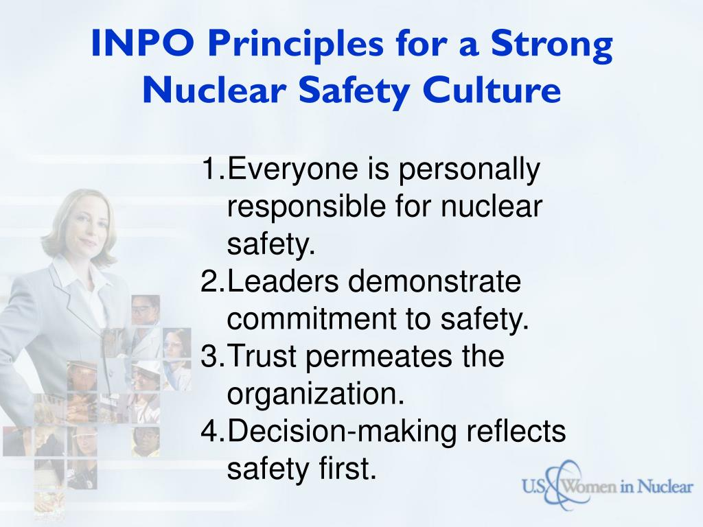 INPO Principles for a Strong Nuclear Safety Culture