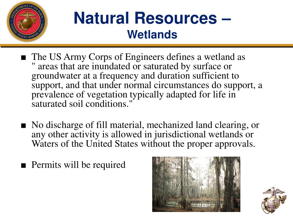 Natural Resources –