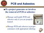 pcb and asbestos