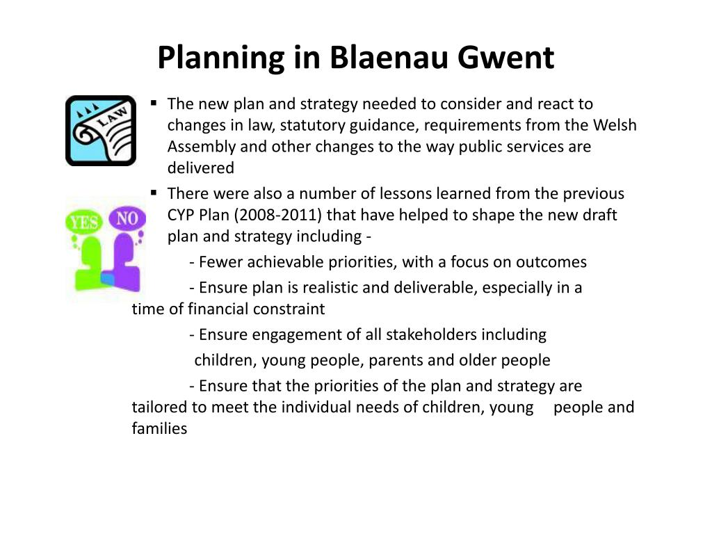 Planning in Blaenau Gwent