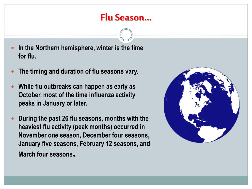 Flu Season…