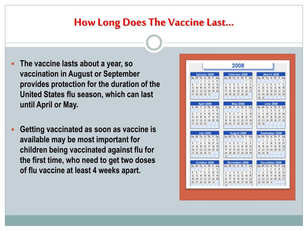How Long Does The Vaccine Last…