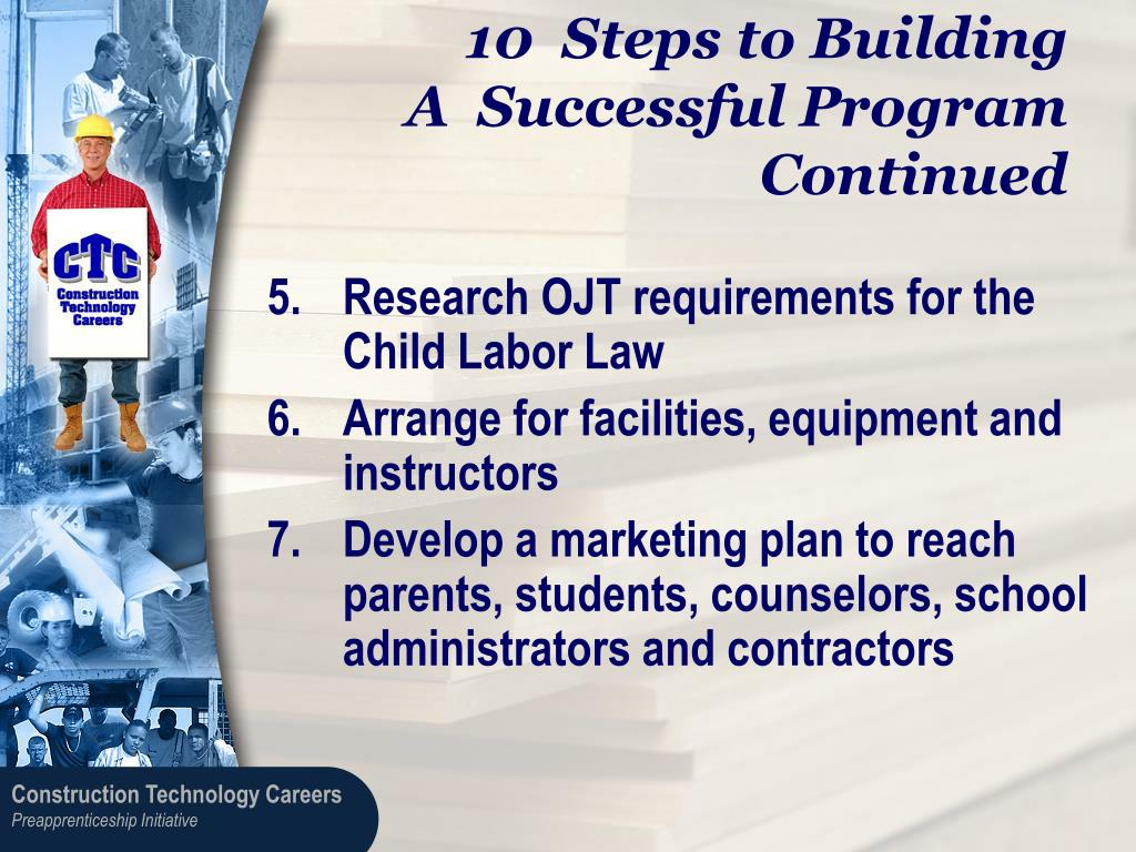 10  Steps to Building