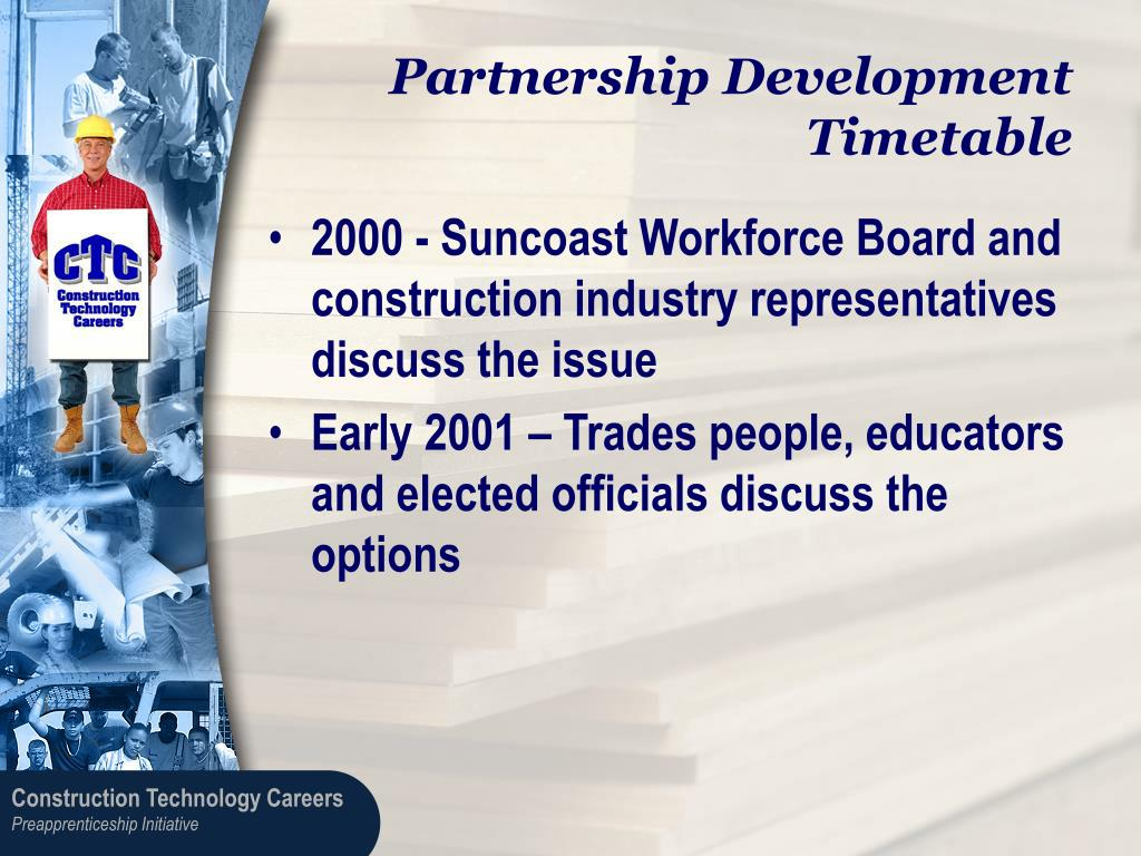 Partnership Development