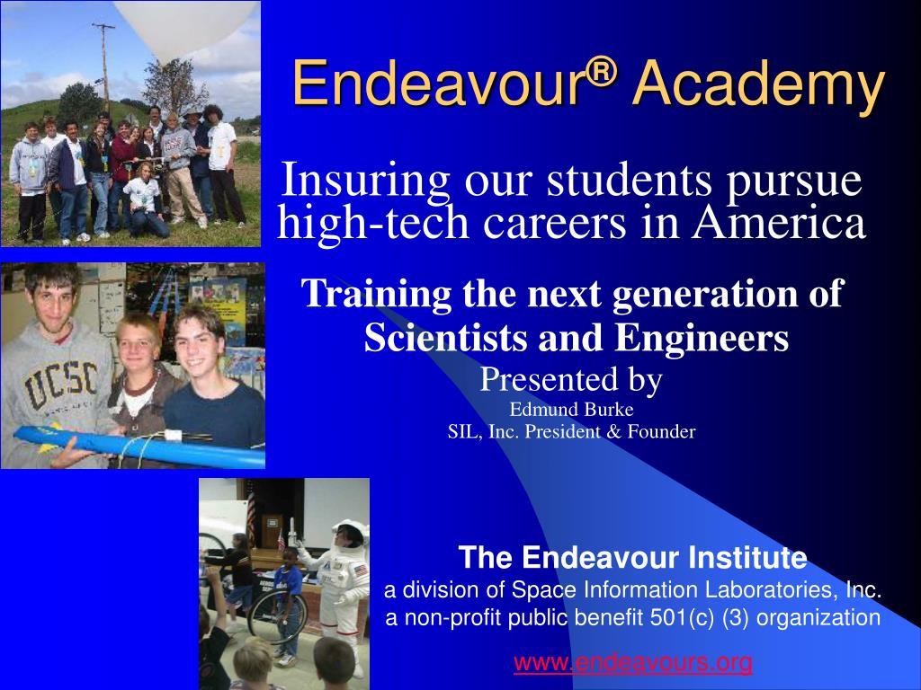 endeavour academy l.