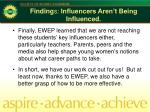 finding s influencers aren t being influenced