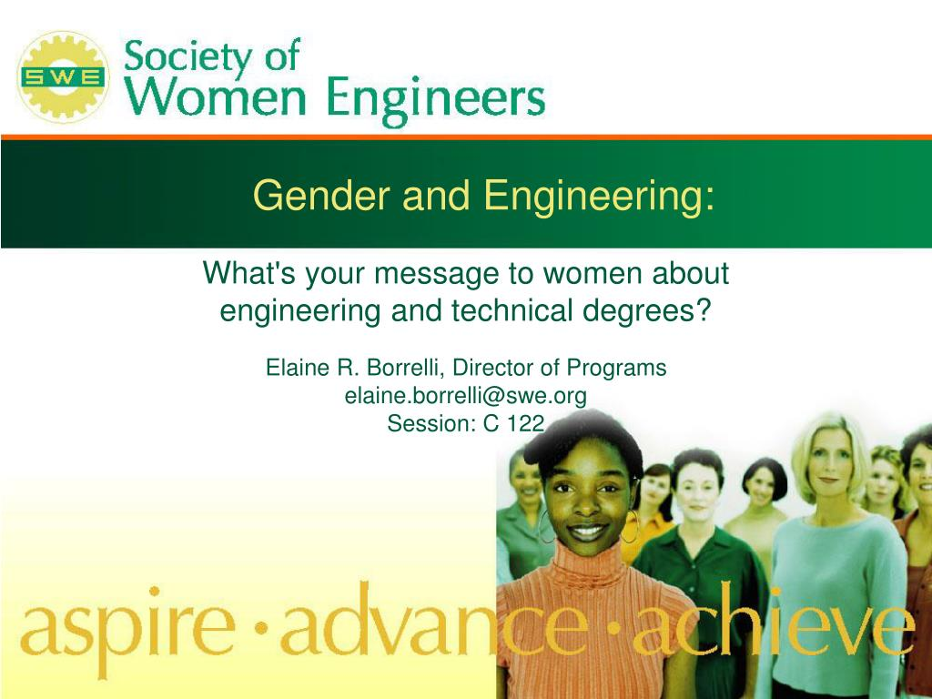 gender and engineering l.
