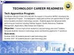 technology career readiness