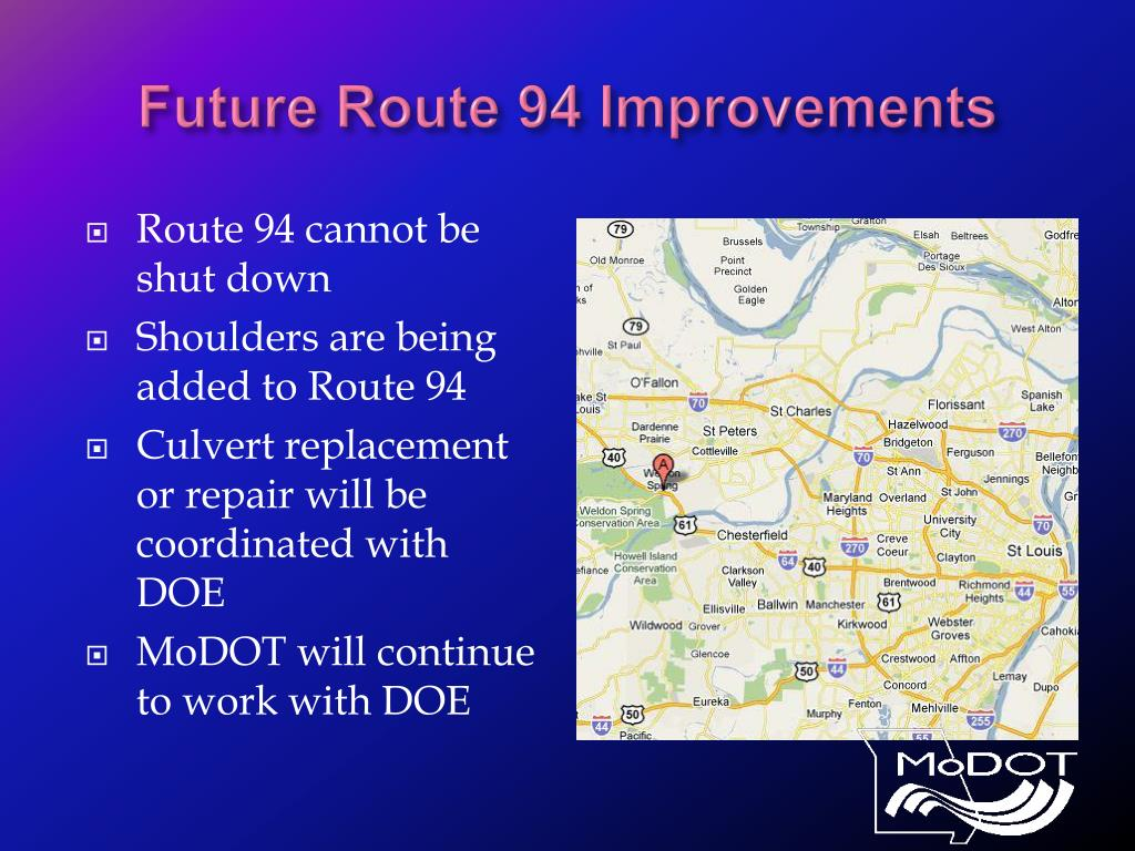 Future Route 94 Improvements
