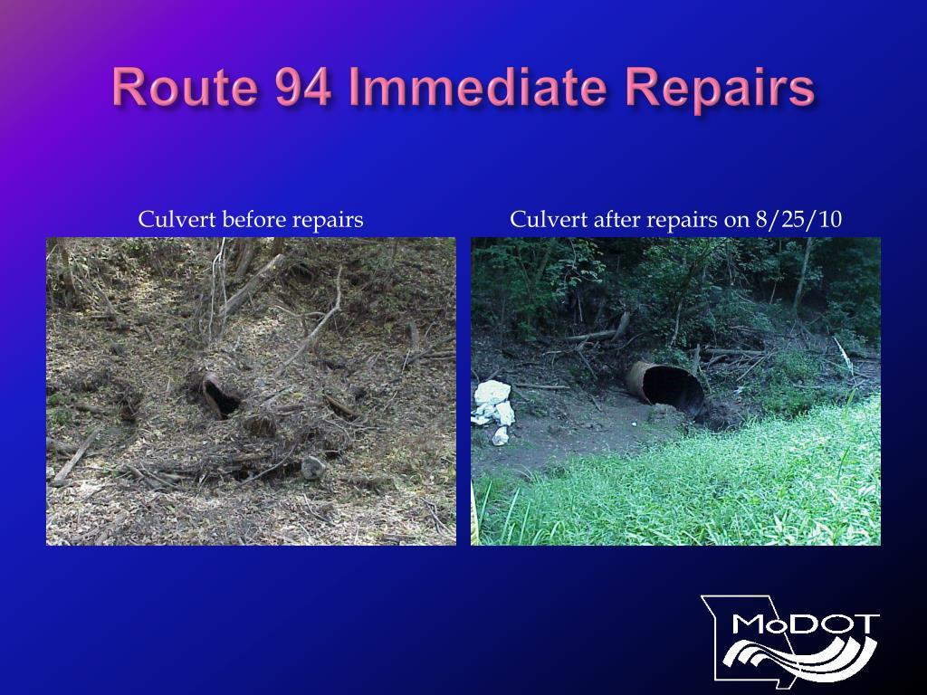 Route 94 Immediate Repairs