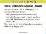 hosts defending against threats