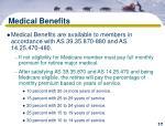 medical benefits