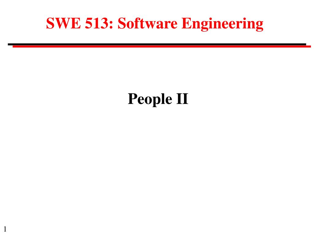 s we 51 3 software engineering l.