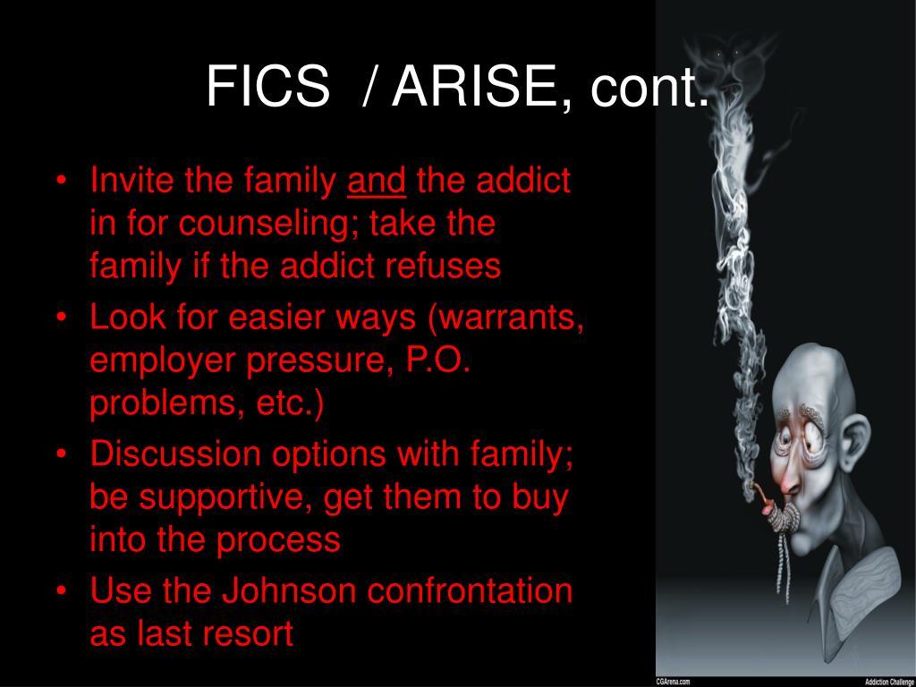 FICS  / ARISE, cont.
