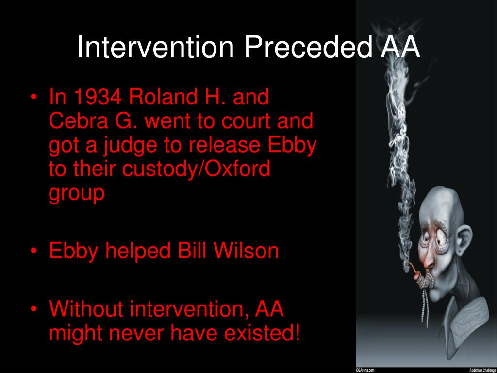 Intervention Preceded AA