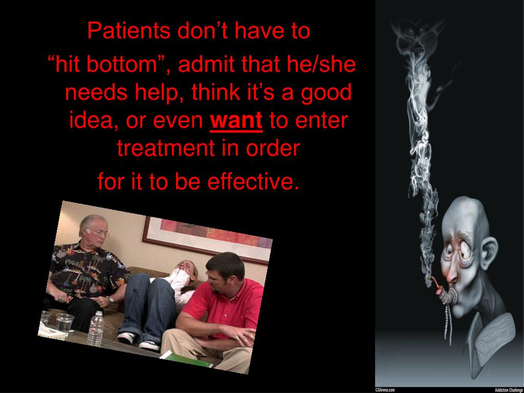 Patients don't have to