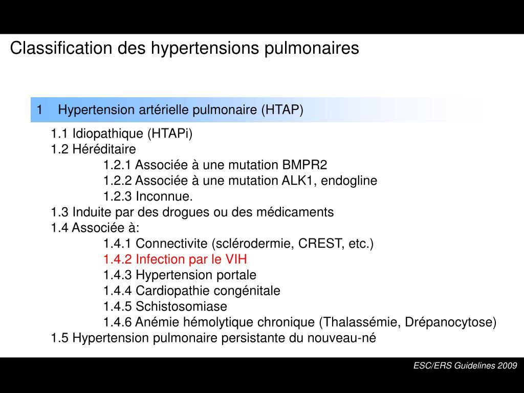 PPT - Hypertension Artérielle Pulmonaire associée à l..