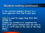student coding continued62