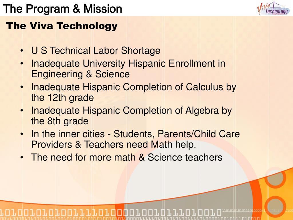 The Program & Mission
