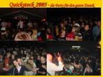 quickstock 2005 die party f r den guten zweck16
